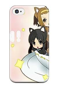 New Tpu Hard Case Premium Iphone 4/4s Skin Case Cover(k-on)