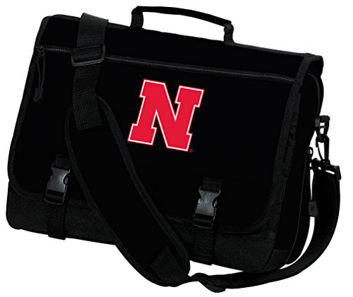 Broad Bay University of Nebraska Laptop Bag Nebraska Huskers Computer Bag or Messenger Bag by Broad Bay