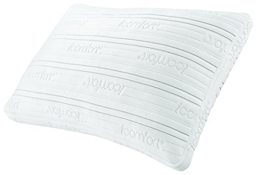 Fantastic Deal! Serta iComfort Scrunch Pillow with Dual Effects, Queen