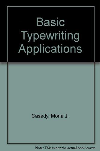 Basic Typewriting Applications: T90