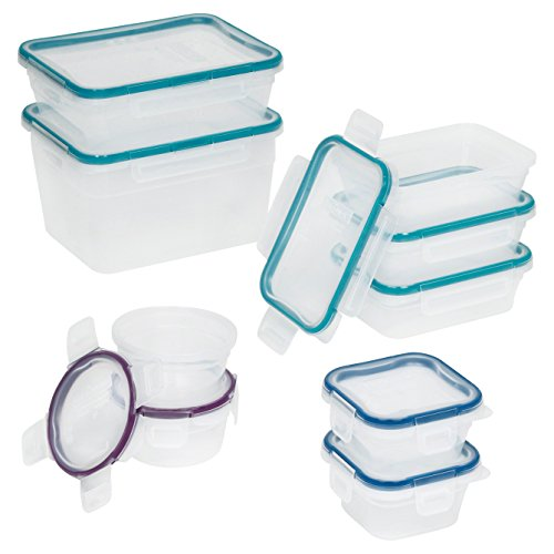 Food Storage Set Snapware 18 Piece Plastic and BPA Free Poly