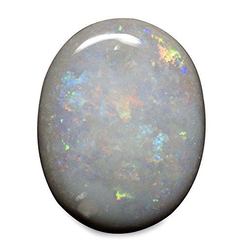 4.25 Ct. Natural Oval Cabochon Multi-color Opal Australian Loose Gemstone
