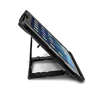 Cta Digital Anti-theft Case With Built-in Stand With Foam Insert For Ipad (1-4), Ipad Gen. 5 (2017), Ipad Air, & Ipad Pro 9.7 Pad-atc 3
