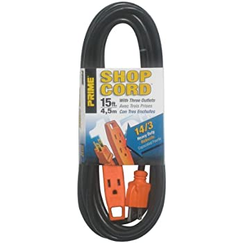 prime wire & cable ec890708 8 foot 14 3 sjt 3 outlet indoor shop 14 3 Wire To Outlet prime wire & cable ec890715 15 foot 14 3 sjt 3 outlet indoor 14-3 wire to outlet