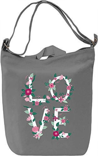 Blooming love Borsa Giornaliera Canvas Canvas Day Bag| 100% Premium Cotton Canvas| DTG Printing|