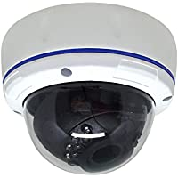 SVD 1080P True Full-HD 4in1 (TVI, AHD, CVI, CVBS) 2.8-12mm Varifocal Lens IR In/Outdoor Dome Camera SONY 2.1 Megapixel 1920x1080 Image Sensor 18 pcs Smart IR 100ft IR Range DWDR UTC OSD IP66