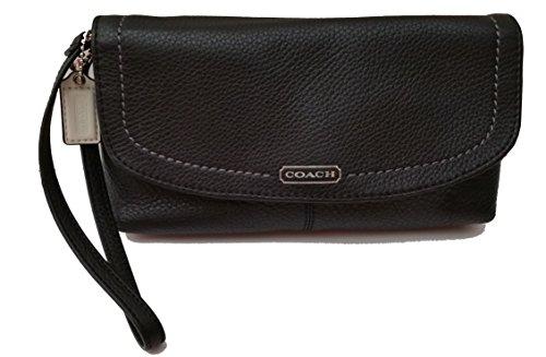 Coach Parker Leather Wristlet 49177