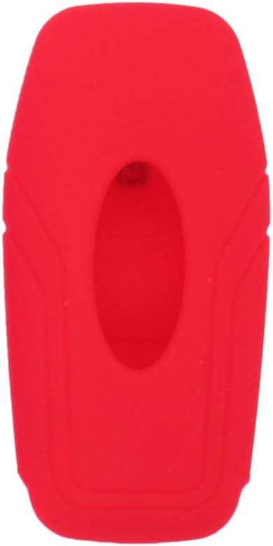 fassport Housse en silicone peau pour femme Adapt/é Pour Ford 3/BOUTON Smart T/él/écommande Cl/é creuse Texture cv9706