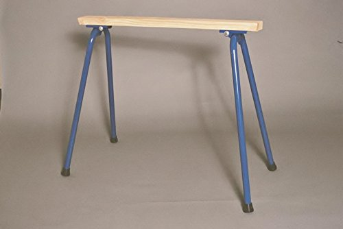 Target Precision RB-H1034 Rugged Buddy 34-Inch Folding Sawhorse Legs for One Complete Sawhorse