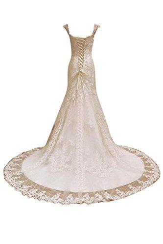 detentori sposa due abiti TOSKANA lungo da pizzo abiti Dreamy o da principessa sposa sposa abiti Toscana BRAUT qwZIXZH