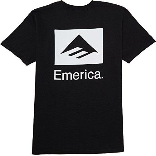 Emerica Brand Combo T-Shirt - Black - SM ()