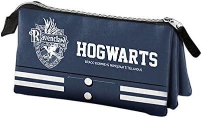 Harry Potter – Estuche escolar Triple azul Ravenclaw Harry Potter: Amazon.es: Oficina y papelería