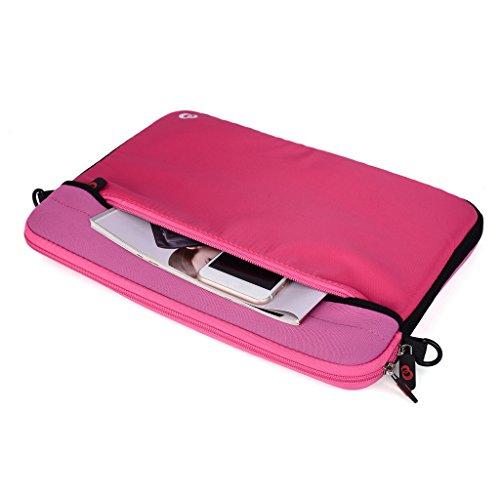 Kroo Tablet/Laptop Hülle Sleeve Case mit Schultergurt für Acer Aspire S7 Qrce9