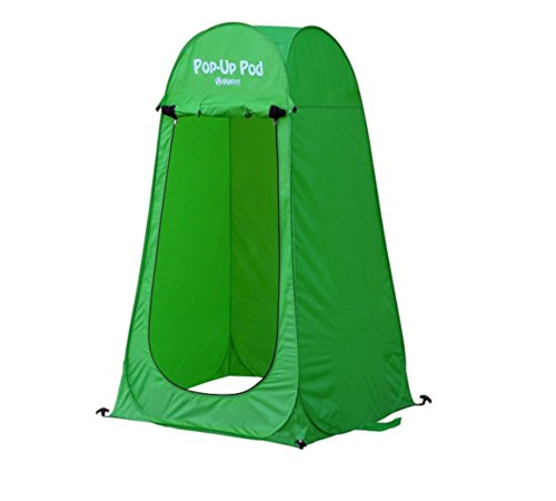 AMGS Popup Changing Potty Room Portable Fordable Folding Lightweight Outdoor Green Tent & e-book by Amglobalsupplies by AMGS