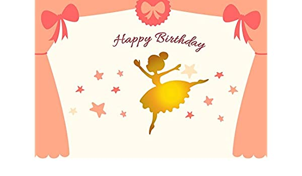 Amazon.com : Girl Birthday Photography Backdrops - Yeele ...
