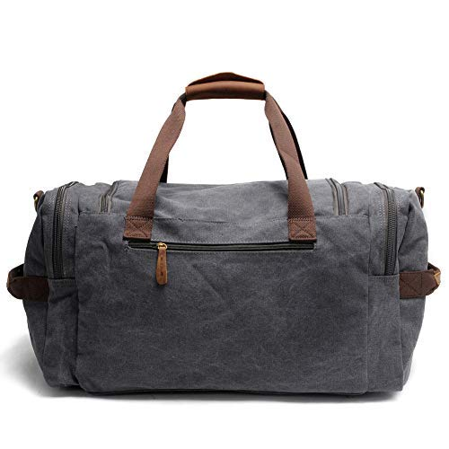 aad4944a67e0 Mens Bathroom Travel Bag Shaving Bags for Men Dopp Kits Vintage Canvas  Leather Dob Kit Toiletry ...