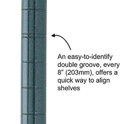 Metro Super Erecta SiteSelect Stationary Shelving Post ...