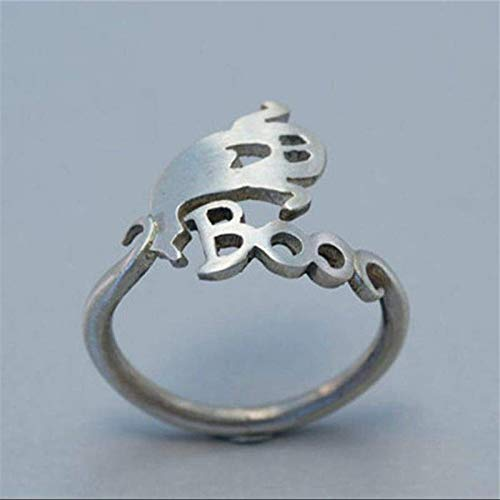 Bodyslam Cute Halloween Ghost Finger Ring Open Finger Rings Punk Party Cosplay Jewelry -
