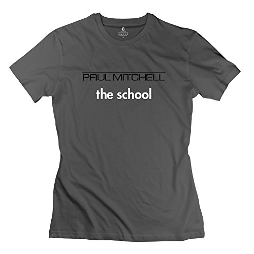 Price comparison product image DeepHeather VAVD Lady's Paul Mitchell The School 100% Cotton T Shirts Size M