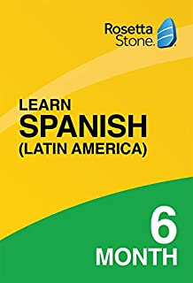 [OLD ASIN] Rosetta Stone: Learn Spanish (Latin America) for 6 months on iOS, Android, PC, and Mac [Activation Code by Mail] (B07HGNRBWK) | Amazon price tracker / tracking, Amazon price history charts, Amazon price watches, Amazon price drop alerts