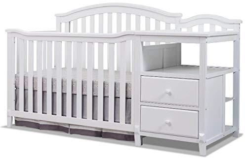 Sorelle Berkley 4 in 1 Crib and Changer, - Sorelle Storage