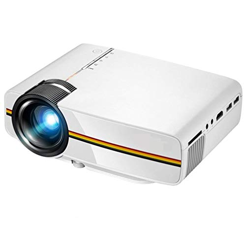 Projector, Portable Mini Video Projector +20% Brighter for Multimedia Home Theater SD Card VGA AV TV, Laptops, Games and iPhone/Android Smartphones