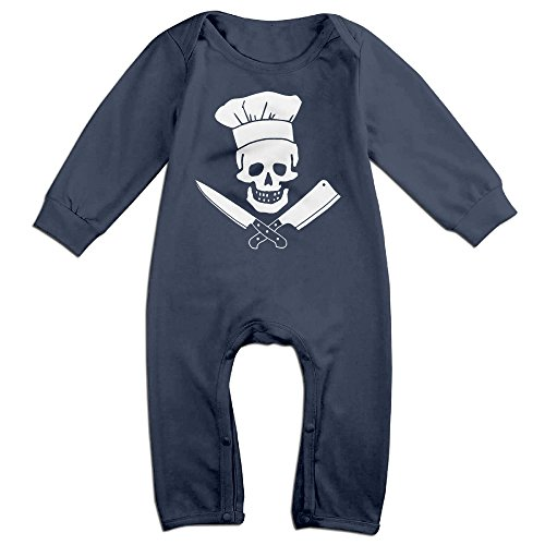 Chef Grill Sergeant Cooking Pirate Baby Onesie Romper Jumpsuit Bodysuits