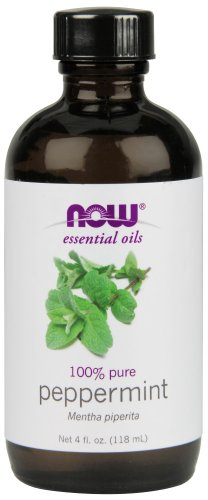 NOW Peppermint Essential Oil, - Oil Mint Rosemary Fragrance