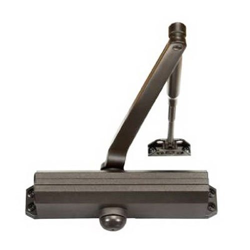 Dark Bronze Adjustable Spring - Norton Door Controls 1601BF x 690 1600 Series Door Closer, Cast Aluminum Body, Adjustable Size 3-6, Dark Bronze Finish