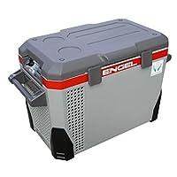 Refrigerador /congelador portátil de triple voltaje AC /DC con carcasa de plástico ABS - 40 qt
