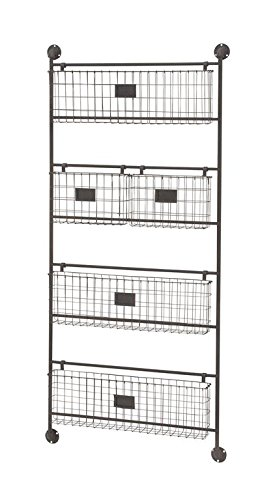 Charmant Deco 79 58624 Functional Metal Wall Basket, 24u0026quot; ...