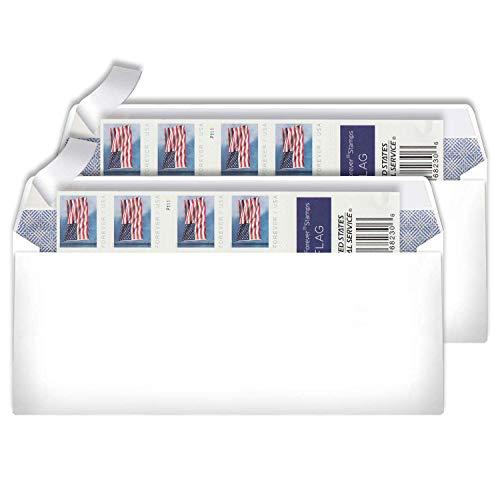 🥇 10# Business Envelope Additional 2019 Forever Postage Mailing Stamp