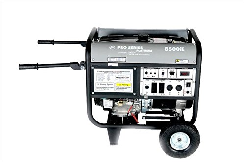 Lifan Platinum Series LF8500iEPL 8500 Watt Comercial/Contractor/Rental Grade 15 HP 420cc OHV Gas Powered Portable Generator with Electric Start and Wheel Kit (CARB Certified) -  LF8500iEPL-CA