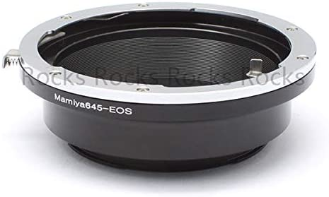 Pixco AF Confirm Adapter Mamiya 645 Lens to Canon SLR Camera D