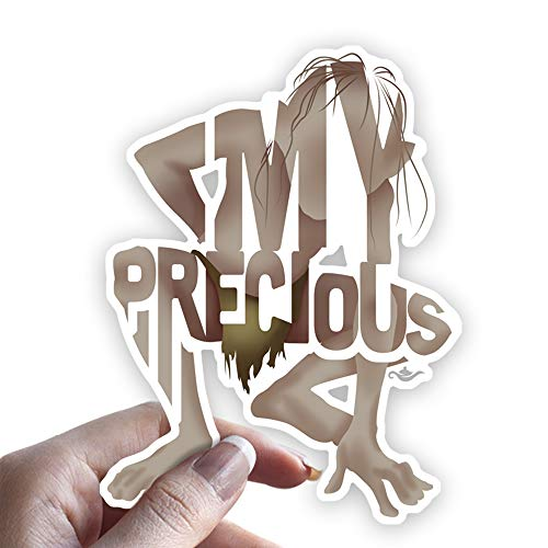Grantedesigns Gollum Sticker from Lord of The Rings Decal for Laptop or Any Flat Surface -