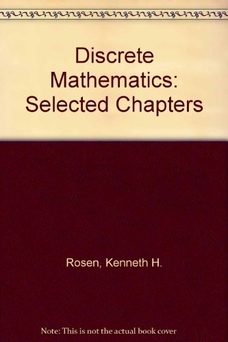 Download Discrete Mathematics Selected Chapters Book Pdf Audio Id