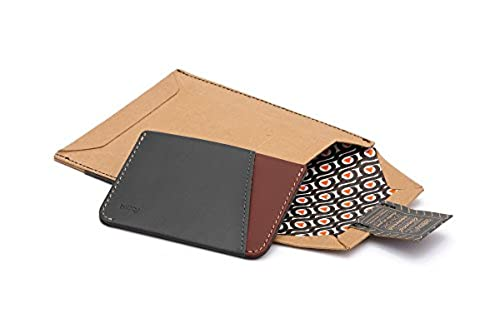 11. Bellroy Micro Sleeve, slim leather wallet (Max. 6 cards and cash)