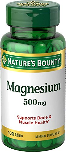Natures Bounty Magnesium Potency Tablets