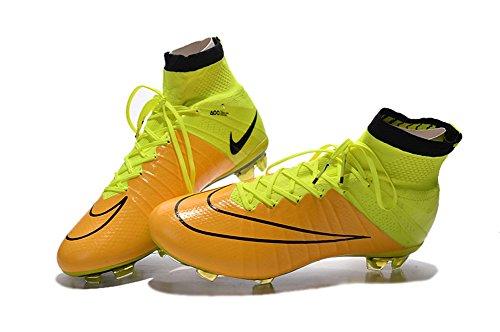 demonry Schuhe Herren Fußball Mercurial Superfly FG gelb Fußball Stiefel