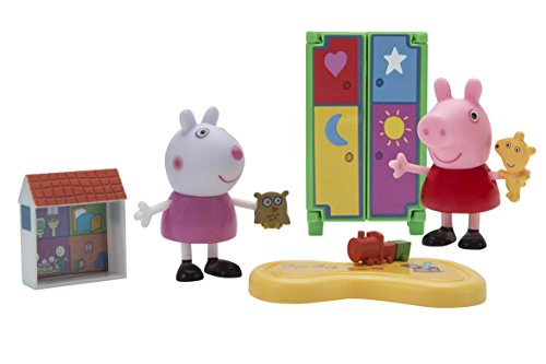 Peppa Pig Little Rooms Playdate Fun Playset -
