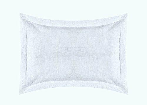 Europa Fine Linens Ikat Matelasse Bedding, Euro Sham Size 26-Inch by 26-Inch, ()