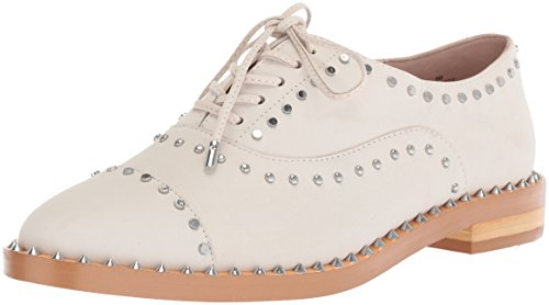 Image of Nine West Women's GARROY Nubuck Oxford Flat