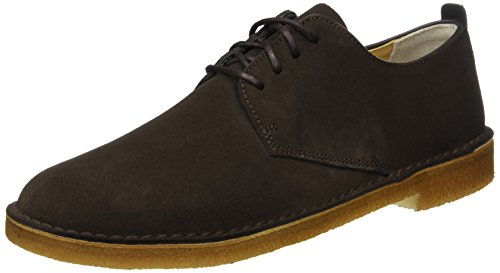 Originals Stringate Clarks Marrone dark Uomo Suede Basse Brown Desert London Derby Scarpe RgdSqd
