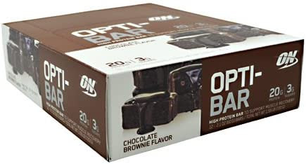 ON Opti-Bar – Chocolate Brownie – 12 – 2.1 oz 60G Bars