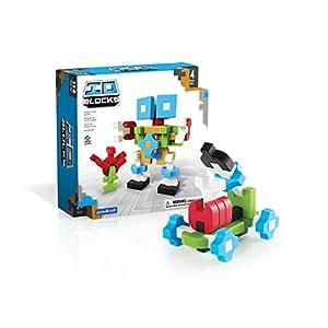 Amazon.com: Guidecraft IO Blocks Digital Puzzle Building ...