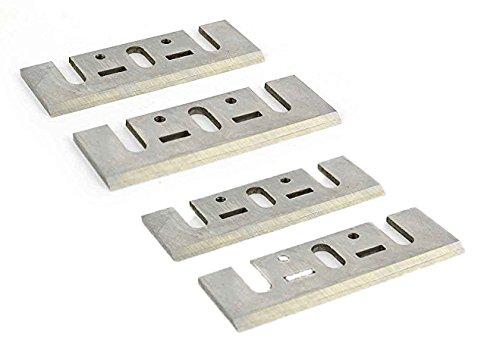 Superior Steel PB1200 3-1/4 Inch (82mm) Resharpenable High-Speed Steel Planer Blades (2 / Pack) by Superior Steel