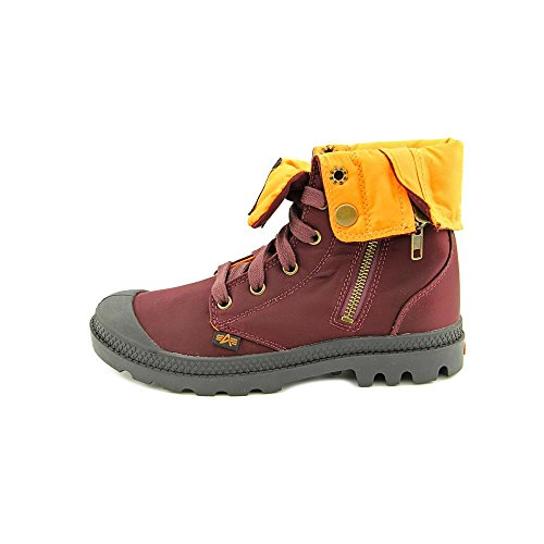 Talla Ma 1 Palladium Naranja Montantes Chaussures Baggi Rouge Femme Zip Granate 7Pn1n4B