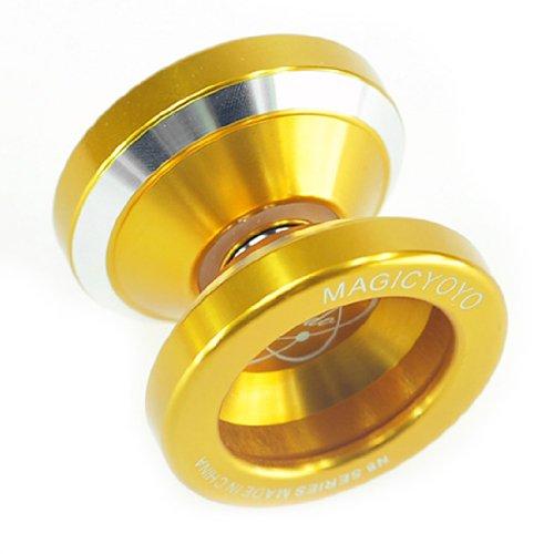 New Fashion Magic YoYo N8 Dare To Do Golden Alloy Aluminum