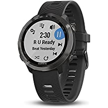 Garmin Forerunner 645 Music, GPS Running Watch with Garmin Pay Contactless Payments, Wrist-Based Heart Rate and Music, Slate