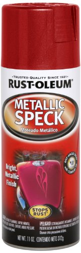 metallic red spray paint - 2